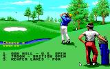 Jack Nicklaus presents The Major Championship Courses of 1989 Apple IIgs Course selection with the new options