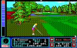 Jack Nicklaus presents The Major Championship Courses of 1989 Apple IIgs Closer to the hole, over par already