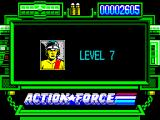 Action Force ZX Spectrum Starting level 7