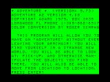 Pirate Adventure TRS-80 CoCo Title