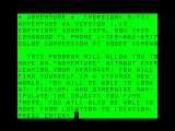 Strange Odyssey TRS-80 CoCo Title