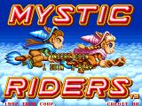 Mystic Riders Arcade Title screen