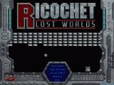 Ricochet Lost Worlds Windows Main menu
