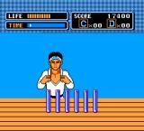 The Karate Kid NES Ice breaking bonus stage