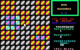 DOS Quadraz DOS An easy level 1 puzzle - solvable in 40 moves (or less).