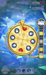 Cinderella: Free Fall Android Rewards on the spinning wheel