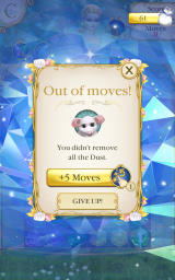 Cinderella: Free Fall Android Out of moves