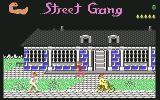 Street Gang Commodore 64 Level 3 - fashionable district.