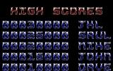 Killing Machine Atari ST High-score table