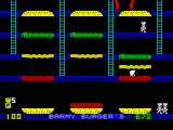 Barmy Burgers ZX Spectrum Crushing the enemy.