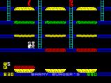 Barmy Burgers ZX Spectrum Spraying the enemy.