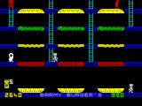 Barmy Burgers ZX Spectrum 4th Level. The middle Left ladder access was cut.