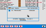 "Spitzenreiter Atari ST Transfer market: you see the buttons for bids from all (up to) four players. Only player 1 (""SC Freiburg"") made a bid"