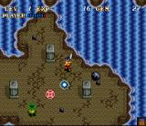 Soul Blazer SNES The First Dungeon
