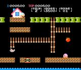 Nuts & Milk NES The first level (Milk is the pink dude)