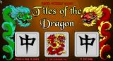Tiles of the Dragon DOS Title screen