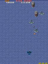 Sky Shark Arcade Level 2 over sea