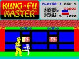 Kung-Fu Master ZX Spectrum 3rd level - The Way of the Intercepting FIST! I (cut this frame and the other two and make your own animated GIF!! PUZZOW!!)