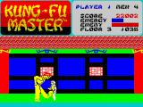Kung-Fu Master ZX Spectrum 3rd level - The Way of the Intercepting FIST! II (CALL 123 NOW for special offer)