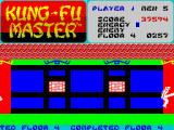 Kung-Fu Master ZX Spectrum 4th level - completed.