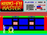 Kung-Fu Master ZX Spectrum 5th level - Final showdown. Your brother... how c'ud he?