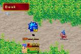 Breath of Fire II Game Boy Advance The battles look like this