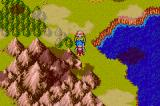 Breath of Fire II Game Boy Advance The map screen