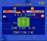 International Superstar Soccer Deluxe SNES Match presentation