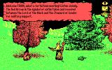 J.R.R. Tolkien's War in Middle Earth DOS Radagast talking to Frodo (CGA)