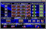 ESLA League Manager III Atari ST Main options: amount of players, their starting league, starting money and stadium