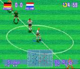 International Superstar Soccer Deluxe SNES Germany - Holland, Kick Off