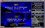 ESLA League Manager III Atari ST First match