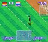 International Superstar Soccer Deluxe SNES Goalkeeper in a captain functions