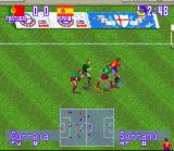 International Superstar Soccer Deluxe SNES Portugal - Spain, Great control!