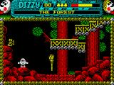 Dizzy 3 and a Half ZX Spectrum Starting location.