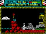 Dizzy 3 and a Half ZX Spectrum Grandfather's teleportation machine.