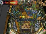 Pure Pinball Windows Top-down scrolling view of the World War table