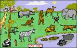 Let's Spell Out and About Amiga Zoo