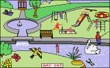 Let's Spell Out and About Amiga Park