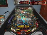 Pure Pinball Windows Full view of the Runaway Train table