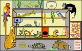 Let's Spell at the Shops Amiga Animals