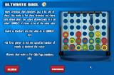Connect 4 Browser Help menu - Ultimate Duel.
