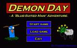 Demon Day Windows Main menu
