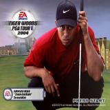 Tiger Woods PGA Tour 2004 PlayStation 2 The game's start screen