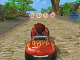 Beach Buggy Racing iPad Racing the power up bubbles tutorial