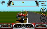 Road Riot 4WD Atari ST Several bumps in the road let your buggy jump