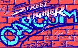 Street Fighter DOS Loading screen (CGA)
