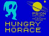 Hungry Horace ZX Spectrum Loading Screen (Sinclair Research Ltd).