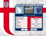 England International Football PlayStation 2 Setting up a friendly match<br>