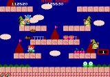 Rainbow Islands Extra Arcade Level 1, island 2